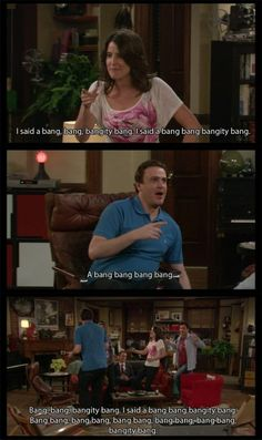 I said a bang bang, bangity bang. How I Met Your Mother How I Met Your Mother, Funny Inspirational Quotes, Funny Quotes, I Meet You, Told You So, Himym Memes, Mothers Friend, Mother Quotes, Film Serie