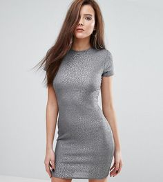 Get this Club L's mini dress now! Click for more details. Worldwide shipping. Club L T-Shirt Mini Dress - Grey: Dress by Club L, Soft-touch knit, Crew neckline, Close-cut bodycon fit, Machine wash, 95% Polyester, 5% Elastane, Our model wears a UK 8/EU 36/US 4 and is 178cm/5'10� tall, Exclusive to ASOS. Whether you're staying in or heading out, Club L is your go-to label for that sleep-to-street style. Prep for the party with its bodycon cami dresses and maxi lengths, or get in your comfort…