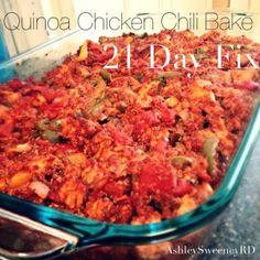 Quinoa Chicken Chili Bake