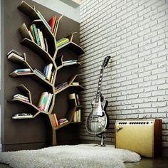 Estante de Livros Linda e Criativa