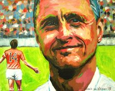"""Johan Cruijff one of the greatest football player in the world. He was 3 times european champion with Ajax from 1971 to 1973. Johan means a lot for the world, nowadays he also manages the Johan Cruijff Foundation, which let disabled persons and/or children in poor countries play sports. Also called """"El Salvador"""" in Barcelona."""