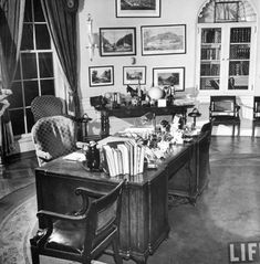 History of the Oval Office Kennedy Office PlacesArchitecture