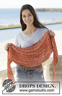 Solar flares / DROPS - free knitting patterns by DROPS design Solar flares / DROPS – free knitting patterns by DROPS design Source by Knitting Designs, Knitting Patterns Free, Free Knitting, Baby Knitting, Crochet Patterns, Crochet Ideas, Drops Design, Knitted Shawls, Crochet Shawl