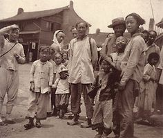 Chinese migrants from Shanghai 1900