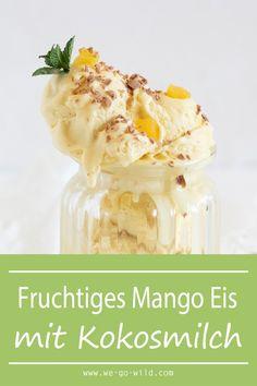 Summer Desserts, Summer Drinks, Vegan Desserts, Easy Desserts, Summer Recipes, Snacks Für Die Party, Vegan Lemon Bars, Bento And Co, Mango Ice Cream