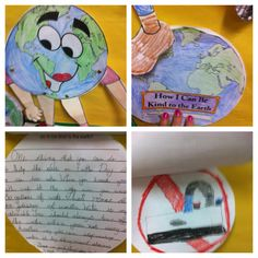 Students got to pick any book on Earth Day and write how they would help make the world a better place and draw a picture of it.  Meets Common Core ELA Standard: W.3.2 Write informative/ explanatory texts to examine a topic and convey ideas and information clearly.