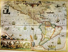 Diego Gutiérrez, Carta dell'America, 1562