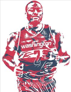 John Wall Washington Wizards Pixel Art 18 Art Print by Joe Hamilton. All prints are professionally printed, packaged, and shipped within 3 - 4 business days. Joe Hamilton, John Wall, Washington Wizards, Thing 1, Nba Players, All Art, Pixel Art, Captain America, Man Cave