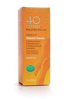 Retinol + Vitamin C serum at an affordable price, that seems to work!! Yes Please!! 40 Carrots Vitamin Serum, 1-Ounce, on Amazon for $14.10