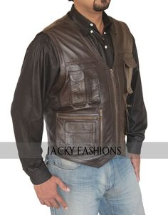 """http://www.ebay.com/itm/Owen-Grady-Chris-Pratt-Jurassic-World-Vest-Jacket-FREE-GIFT-INCLUDED-/251868186513  The new sensational piece of fashion is yet another inspired edition that is worn by Chris Pratt in the Hollywood movie """"Jurassic World"""" and it is Chris Pratt Owen Vest.   #ChrisPratt #JurassicWorld #movie #Hollywood"""