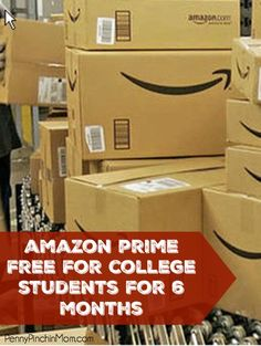 Attention college students! Get 6 months FREE of Amazon Prime. FREE shipping and video streaming.