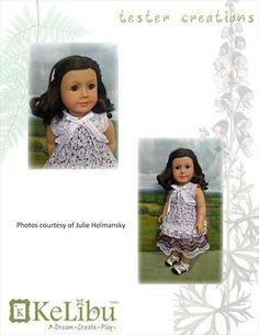 Kelibu Mori Girl Shrug Doll Clothes Pattern 18 inch American Girl Dolls | Pixie Faire