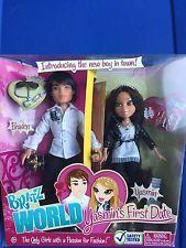 MGA BRATZ WORLD Yasmin's First Date Yasmin & Braden Fashion Doll Set NRFB