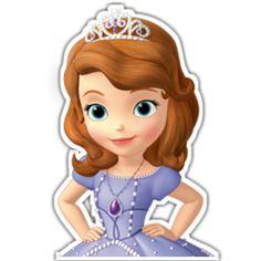 princesa sofia Sofia The First Birthday Cake, Princess Sofia Birthday, Disney Princess Cupcakes, Princess Cookies, Ballerina Birthday, Bolo Sofia, Sofia Cake, Princesa Sophia, Disney Princess Pictures