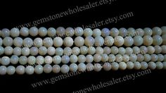 Australian Opal Smooth Round Quality A / 3.5 by GemstoneWholesaler