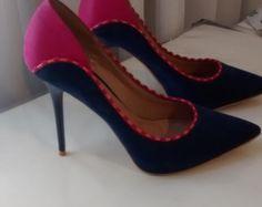 Sapato Salto Rosa e Azul Di Cristalli R$35.00 Tam 37 https://www.lojacafebrecho.com.br/produto/sapato-salto-rosa-e-azul-di-cristalli