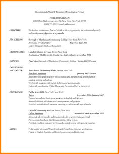 Teacher Aide Resume There Are Several Parts Of Assistant Teacher Resume To Concern .