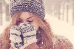 winter. hat. mittens.