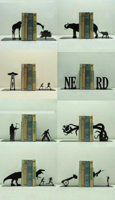 Arte no Ateliê: Suporte para livros: Mil idéias.