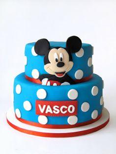 sabores da gula: Bolo Mickey - Vasco