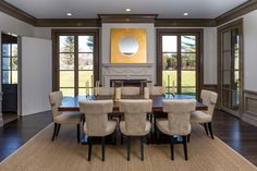 Douglas VanderHorn Architects | Greenwich Normandy | Dining Room
