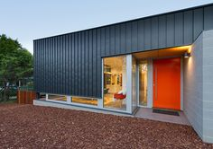 Metal Panels, Modern Houses, Architects, Garage Doors, Exterior, Building, Outdoor Decor, Image, Home Decor