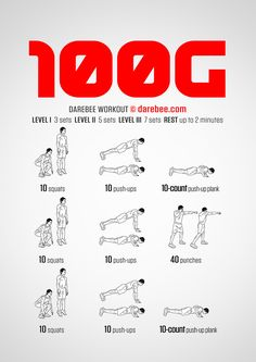 100G  Workout | Posted By: CustomWeightLossProgram.com Spartan Workout, Boxing Workout, Man Workout, Upper Body Home Workout, Chest Workout At Home, Fit Board Workouts, Easy Workouts, At Home Workouts, Best Pre Workout Food