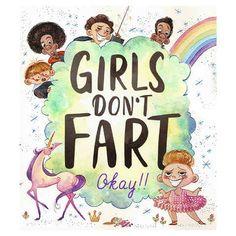 Girls Don't Fart Okay!! - Book