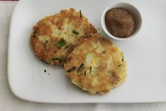 Cheddar and Potato Latkes with Spiced Applesauce | Recipe | Joy of Kosher with Jamie Geller