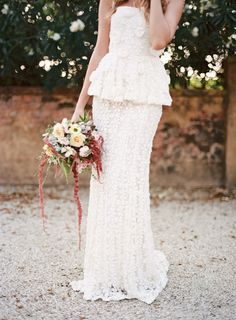 The Flower Bride - Gardenia dress - photo by Feather and Stone