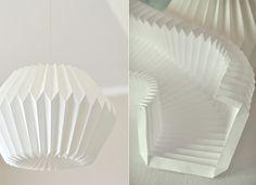 origami lamp skjemaer papir - en romantisk idé