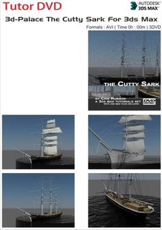 3d-Palace The Cutty Sark For 3ds Max