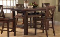 Counter Height Dining Room Sets Consist Of 4 Piece Counter Height Dining Set Featured With Counter Height Dining Table For 8