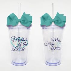 Mother of the Bride- Acrylic Tumbler Personalized Cup