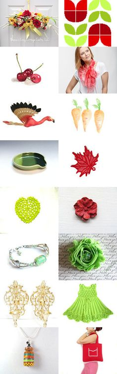 Summer colors by Olga on Etsy--Pinned+with+TreasuryPin.com