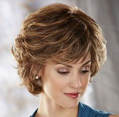 Timeless Short Hairstyles for Older Women Above 40 and 50 - Learn more at circletrest.com - Wendy Schultz - Hair Designs.