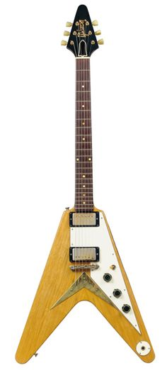 "Jan. 6, 1958. The Gibson company patents the ""Flying V"" guitar."