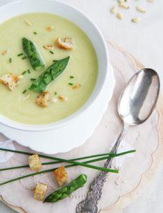 Cream of Asparagus Soup | Anne's Kitchen