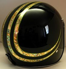 By Chemical Candy Custom. motorcycle helmet
