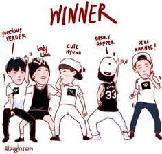 Awwww this describes them perfectly!!! - WINNER
