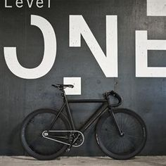 Matte Black Fixed Gear