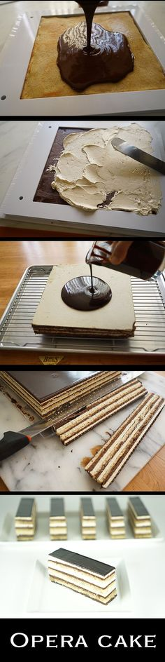 Opera Cake recipe step by step
