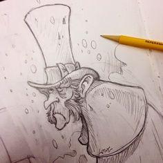 DAVE LOWE DESIGN the Blog: Humbug Sketching