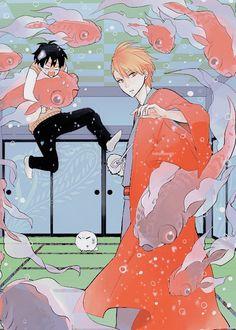 不機嫌なモノノケ庵fukigen-na-mononokean All Anime, Anime Guys, Manga Anime, Studio Ghibli Wallpaper, Natsume Yuujinchou, Divas, Bishounen, Manga Boy, Anime Films