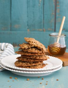 Honey Oat Cookies | white on rice couple