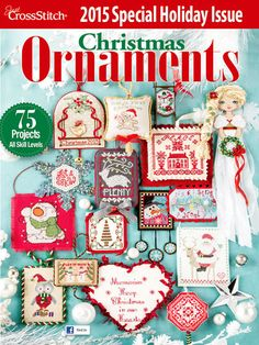 Cross Stitch Ornaments for Christmas patterns
