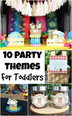 10 Sun-Filled Party Themes for Toddlers