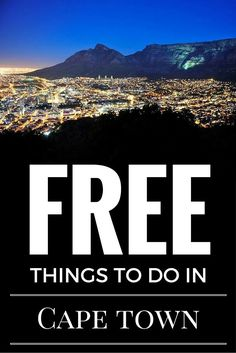 Here are a few ideas on free things to do in Cape Town, South Africa when you only have 48 hours to spend in the Mother City, via Eager Journeys. Travel Advice, Travel Guides, Travel Tips, Budget Travel, Africa Destinations, Travel Destinations, Chobe National Park, Free Things To Do, Africa Travel