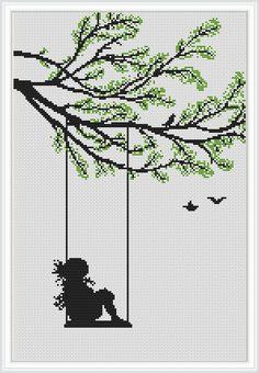 Wedding Cross Stitch Patterns, Disney Cross Stitch Patterns, Modern Cross Stitch Patterns, Counted Cross Stitch Patterns, Cross Stitch Designs, Cross Stitch Embroidery, Cross Stitch Letters, Cross Stitch Tree, Cross Stitch Bookmarks