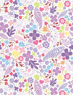 Pattern Designs by Claire Edwards, via Behance -Good all over repeat